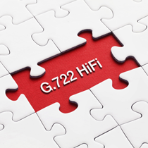 G722 (HD) HiFi for Phones